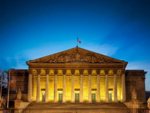 Assemblée nationale (nuit)