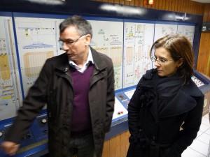 Visite du Moulin d'Avanne - 16 novembre 2012