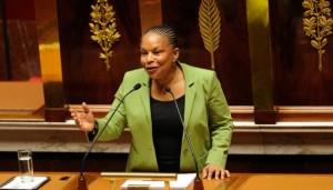 Christiane Taubira à l'Assemblée nationale le mardi 29 janvier 2013