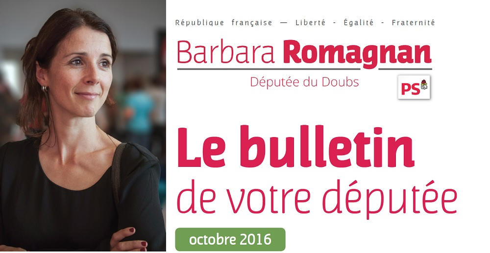 Bulletin Octobre 2016