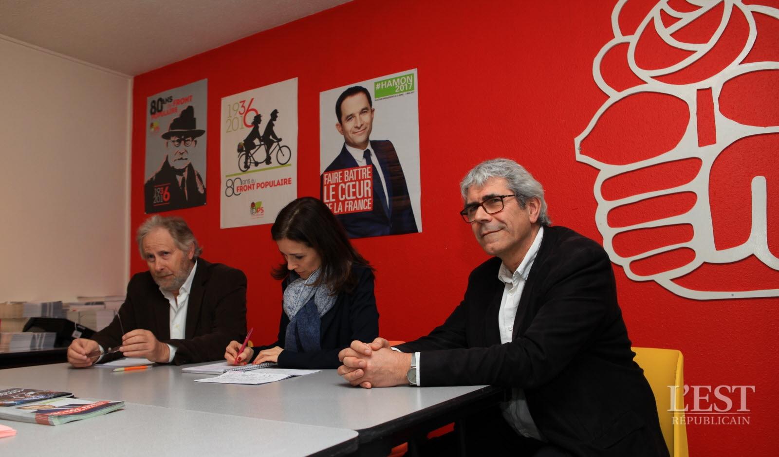 Claude Mercier (directeur De Campagne), Barbara Romagnan Et Régis Aubry (c) Franck Hakmoun