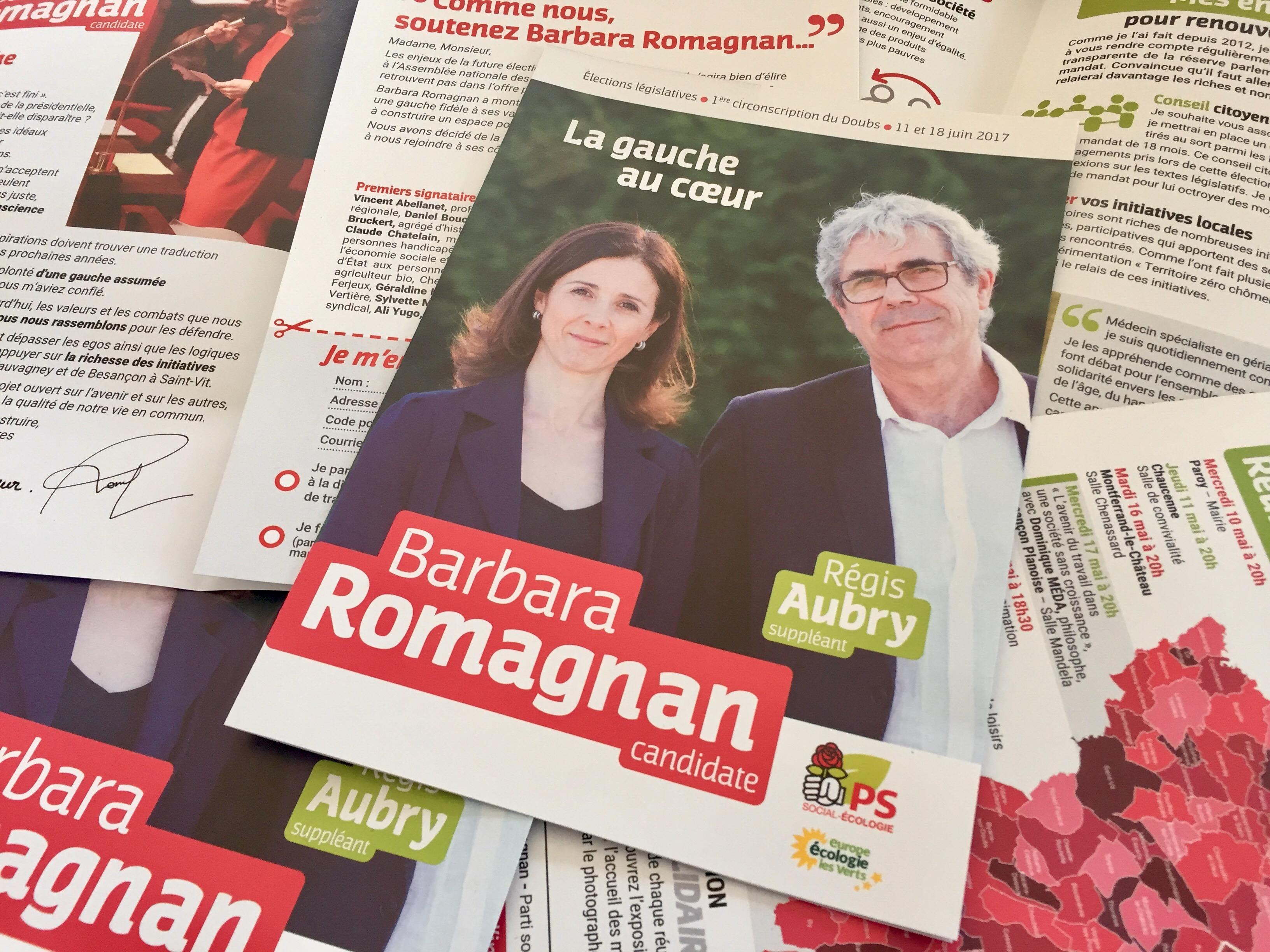 La Gauche Au Cœur : Mon Document De Campagne