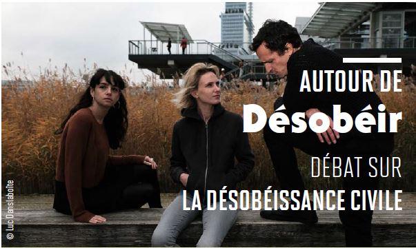 INVITATION – Débat « Autour De La Désobéissance Civile »
